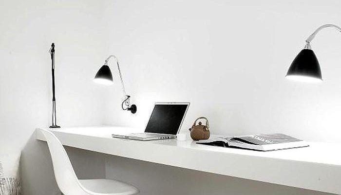 Serene home office
