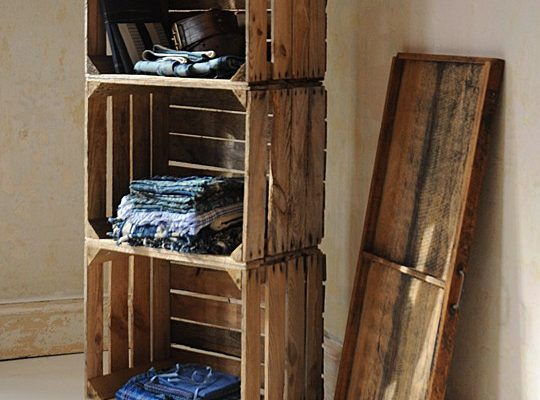 Stylish storage crates